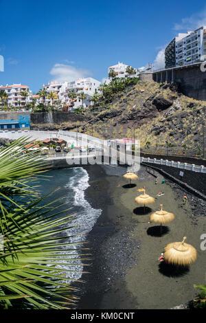 Puerto de santiago beach tenerife canary islands spain for Piscina natural de puerto santiago