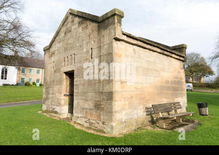 Stamfordham Vllage lock up, Stamfordham, Northumberland - Stock Photo