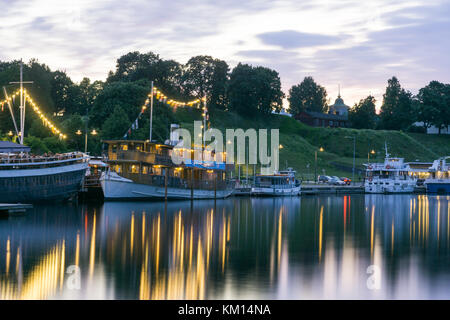 Lappeenrannan satama kesällä - Stock Photo