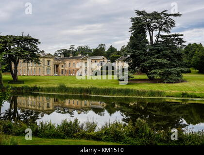 Compton Verney Wedding venue in Warwickshire, stately house set in the beautiful Warwickshire countryside, offering - Stock Photo