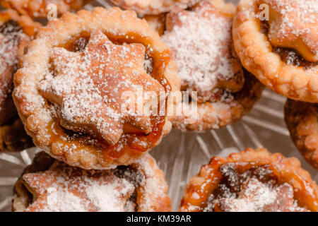 Home baked mince pies - Stock Photo