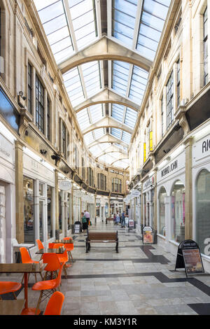 The Royal Arcade shopping centre, Marine Parade, Worthing, West Sussex, England, United Kingdom - Stock Photo