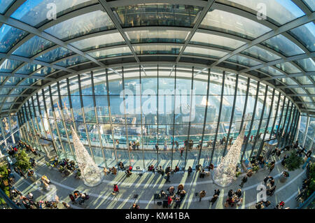 England London England city of London The Walkie talkie building skyscraper or 20 Fenchurch Street City of London - Stock Photo