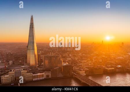 The shard London England London uk gb europe the shard london London England uk gb  europe - Stock Photo
