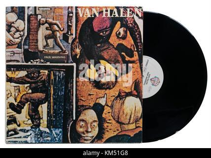 Van Halen Fair Warning album - Stock Photo