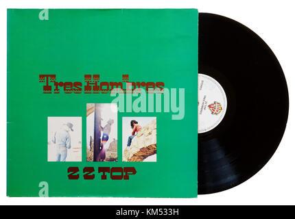ZZ Top Tres Hombres album - Stock Photo
