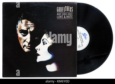 Godfathers More Songs a ABout Love and hate album - Stock Photo