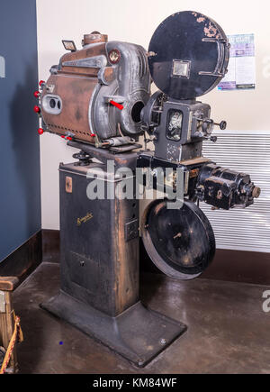 Vintage Theater Movie Projector - Stock Photo