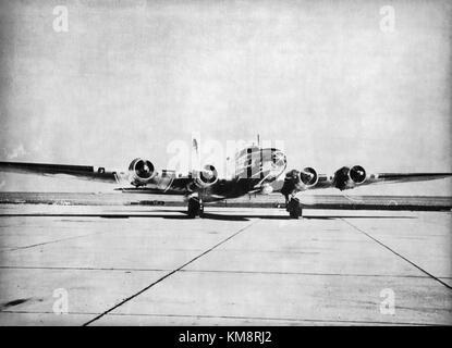 SAS Boeing B 17, Flying Fortress, Felix,1946 - Stock Photo