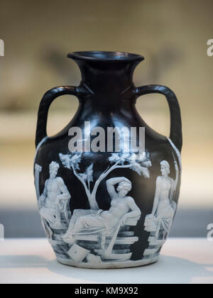 The Portland Vase A Roman Cameo Glass Vase Made Between 15 Bc And