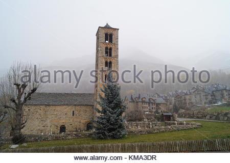 Iglesia de San Clemente de Tahull - Stock Photo