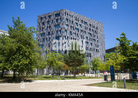 Hotel Melia at Kirchberg, Luxembourg-city, Luxembourg, Europe - Stock Photo