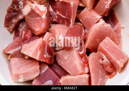 Close up raw beef - Stock Photo