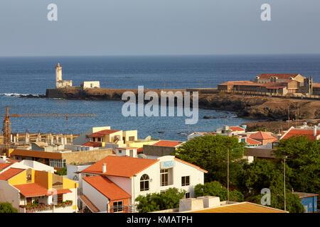 Ponta Temerosa, Praia, Santiago, Cape Verde (Cabo Verde), Africa - Stock Photo