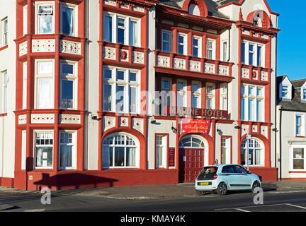 The Marine Hotel, Seaton Carew, County Durham, England UK - Stock Photo