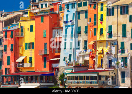 Porto Venere, La Spezia, Liguria, Italy - Stock Photo
