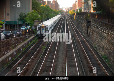 NYC subway stations in Manhattan - Stock Photo
