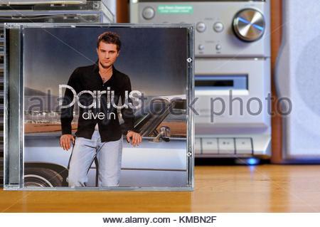 Darius Campbell 2002 debut album, Drive In. - Stock Photo