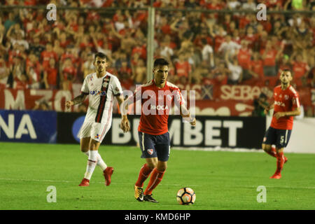 Buenos Aires, Argentina. 6th Dec, 2017. of Independiente (ARG) during the Conmebol South American Cup final match - Stock Photo