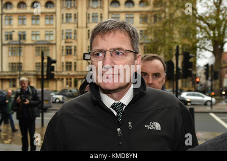 London, United Kingdom. 7th December 2017. Assistant Chief Constable Marcus Beale, attached to West Midlands Police, - Stock Photo