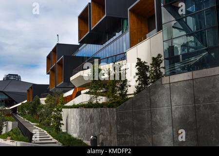 The ICC Sydney Exhibition Centre at The International Convention Centre Sydney (ICC Sydney), Australia - Stock Photo