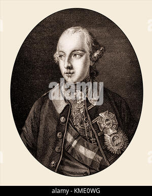 Joseph II, 1741-1790, Holy Roman Emperor from 1765 to 1790 - Stock Photo