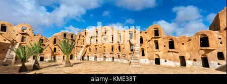 Ksar Ouled Soltane near Tataouine, Tunisia - Stock Photo