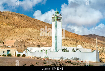 Mosque in Ksour Jlidet, South Tunisia - Stock Photo