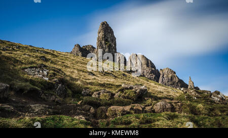Old Man Of Storr, Scotland - Stock Photo