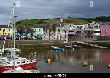 Aberaeron, Ceredigion,Wales, UK - Stock Photo