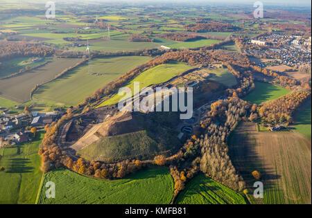 Landfill site Eyller Berg, Eyller-Berg Abfallbeseitigungsgesellschaft mbH, toxic landfill, gravel removal, EBA - Stock Photo