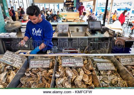 The Sydney Fish Market, Australia - Stock Photo