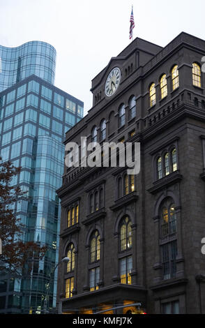 The Foundation Building of Cooper Union for the Advancement of Science and Art.East Village.Manhattan.New York City.USA - Stock Photo