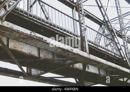 Bridge constructions. - Stock Photo