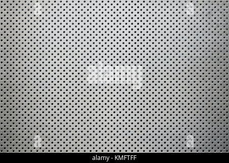 metal background dot pattern - Stock Photo