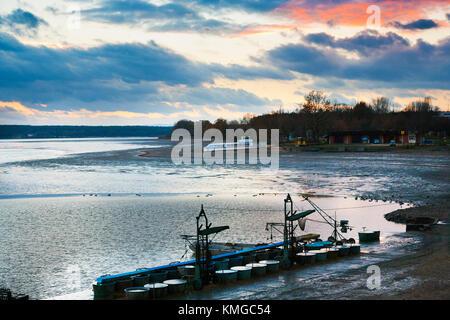 vylov rybnika Svet, Trebon, Jizni Cechy, Ceska republika - Stock Photo