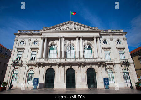 Lisbon, Portugal I -July  7,2014:The Lisbon City Hall is the seat of the Lisbon municipal government. The building - Stock Photo