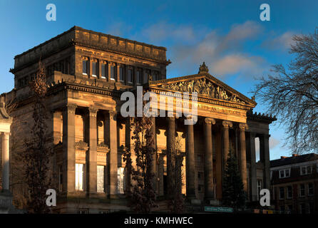 Harris Museum and Art Gallery Preston - Stock Photo