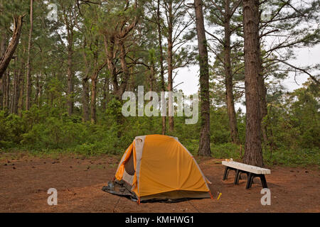 NORTH CAROLINA - Tent at c&site on Cape Lookout Island & Tent on seashore in the morning Stock Photo Royalty Free Image ...