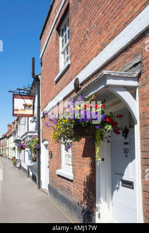 The Plough Inn, High Street, West Wycombe, Buckinghamshire, England, United Kingdom - Stock Photo