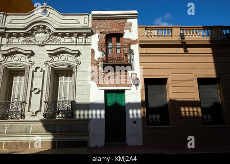 Casa Minima (narrowest house in Buenos Aires), San Telmo, Buenos Aires, Argentina, South America - Stock Photo