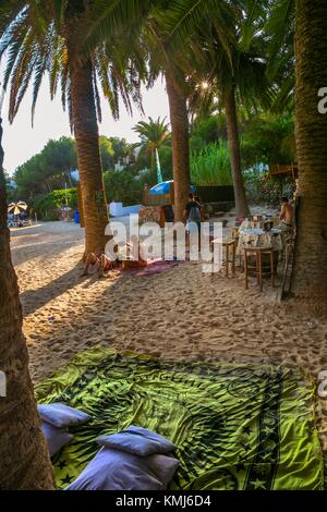 Cala en Blanes Beach. Ciutadella de Menorca Municipality. Minorca. Balearic Islands. Spain - Stock Photo