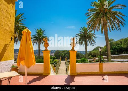 Binissues manor houses of the eighteenth century is where the new Museum of Natural Sciences of Menorca is located. - Stock Photo