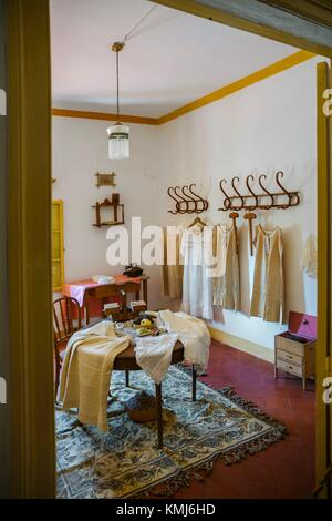Sewing room. Manor House.Binissues manor houses of the eighteenth century is where the new Museum of Natural Sciences - Stock Photo