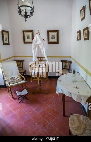 Manor House.Binissues manor houses of the eighteenth century is where the new Museum of Natural Sciences of Menorca - Stock Photo