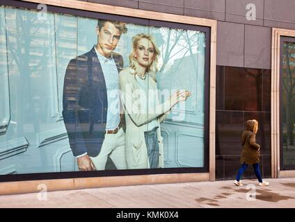 L'illa Mall, Avinguda Diagonal, Barcelona, Catalonia, Spain - Stock Photo