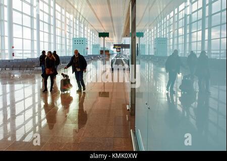 El Prat Airport, Barcelona, Catalonia, Spain - Stock Photo