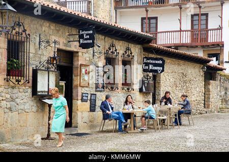 Santillana del Mar, Cantabria, Spain - Stock Photo