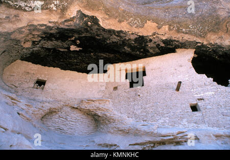 Gila Cliff Dwellings National Monument. New Mexico. USA - Stock Photo