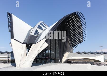 lyon-saint exupéry airport railway station